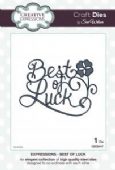 Sue Wilson Craft Dies - Expressions Collection - Best of Luck - CED5417